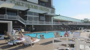 Galt House Hotel pool