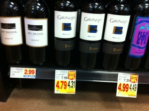 Bay Bridge wine is even cheaper than Two Buck Chuck at Trader Joes!