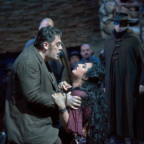 Anita Rachvelishvili as Carmen, Met Opera 2014